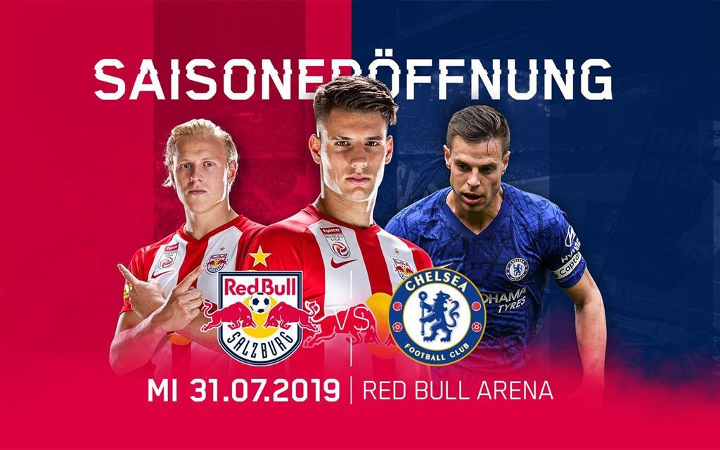 Futbalový zájazd Salzburg - Chelsea