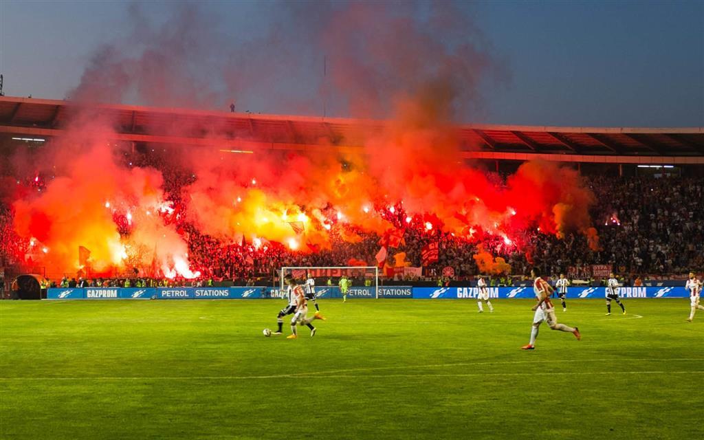 Futbalový zájazd Partizan Belehrad - Crvena Zvezda