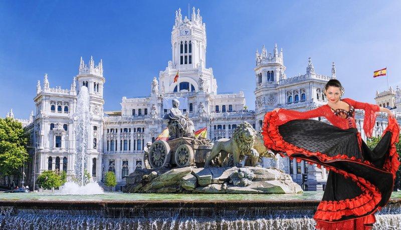 Temperamentný Madrid a flamenco show LETECKY