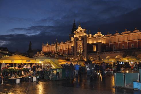 Adventný Krakow a Wieliczka