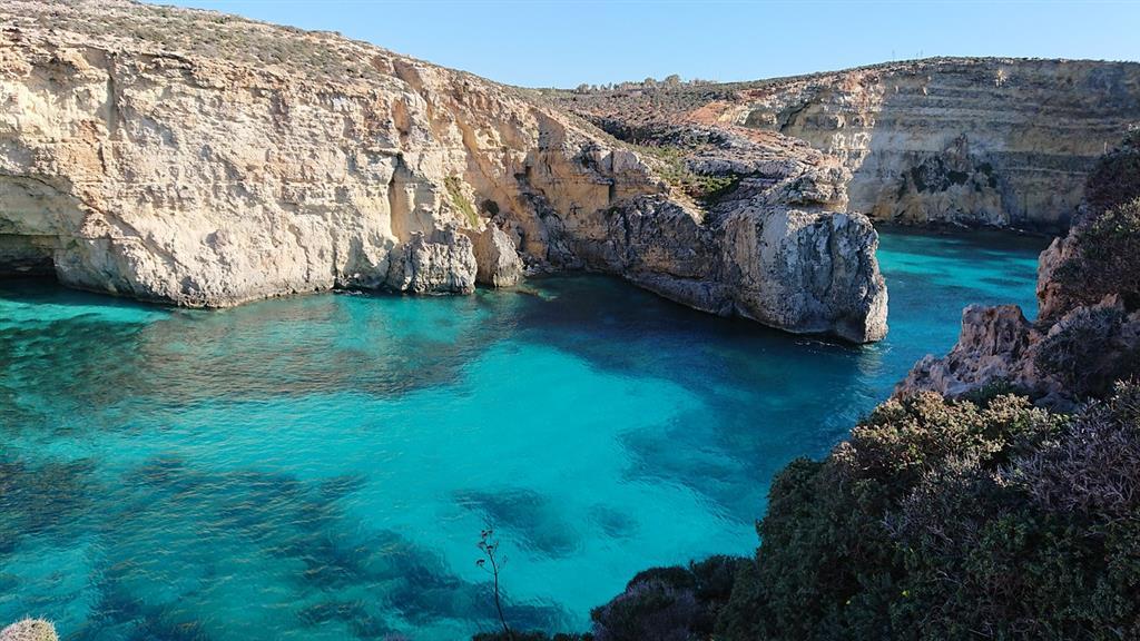 Malta - azúrový ostrov - 1